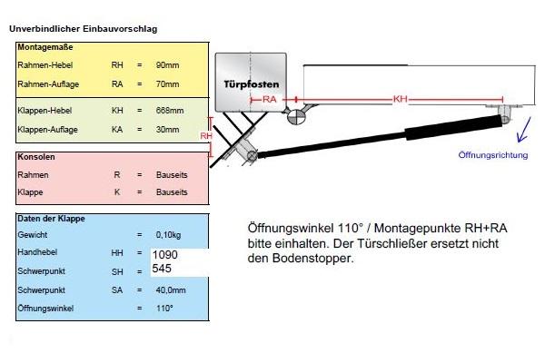 Funcionalidad óptima mediante el cálculo individualizado de la posición de montaje
