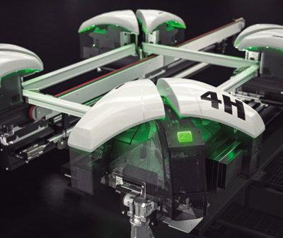 soldadora de perfiles de PVC Fusion 4H de Emmegi es un perfecto ejemplo de la unión entre el hombre y la máquina
