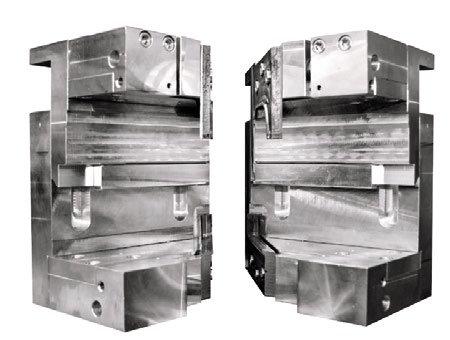 Contraformas con tecnología Seamless para la soldadora horizontal Fusion 4H.