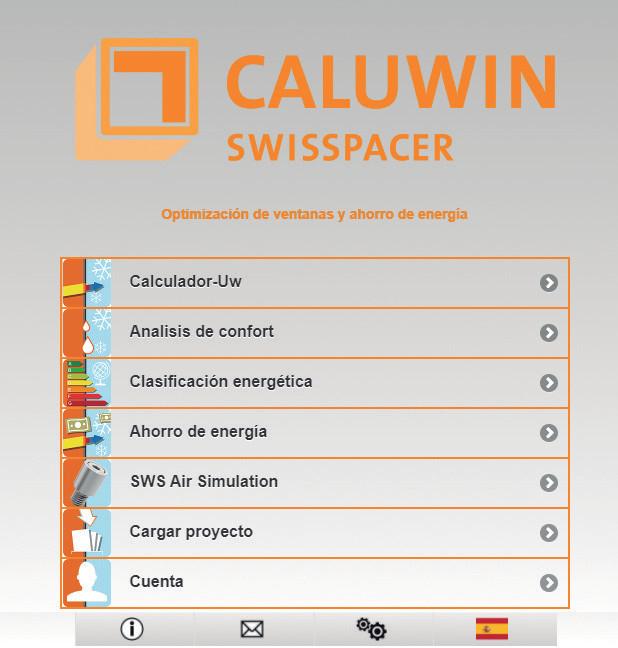Cómo calcular la transmitancia térmica del vidrio con CALUWIN de SWISSPACER