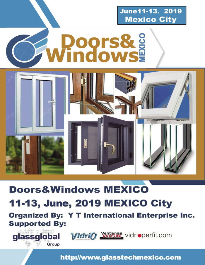 DOORS AND  WINDOWS MEXICO 2019