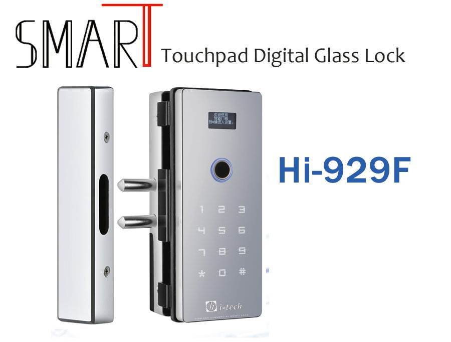Cerradura para vidrio Smart Touchpad Digital Hi-929F